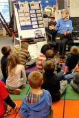 Spellbinder telling a story