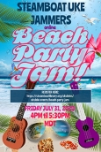 Poster for Beach Party Jam