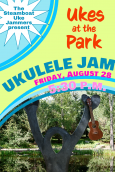 Ukes at the Park Poster