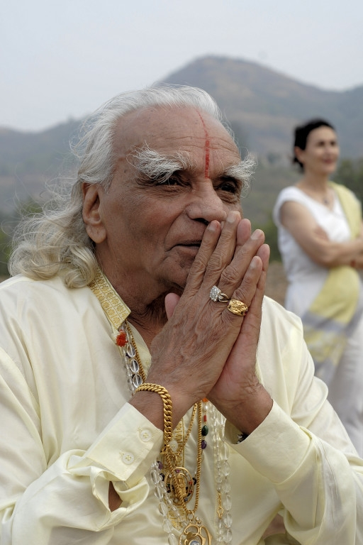 Guruji prayer hands