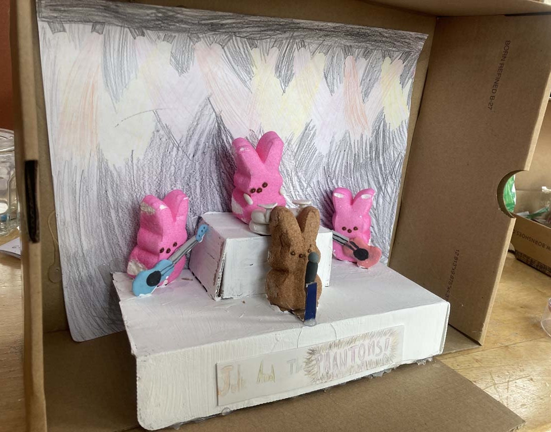 Julie and the Phantoms! by Audrey Rundall - Entry 29