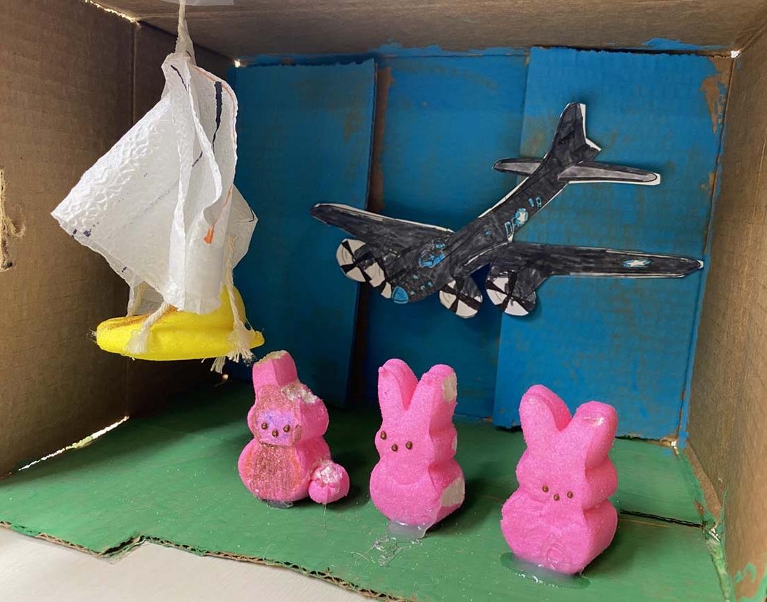 B-17 Flying Fortress by Cody Burch - Entry 27