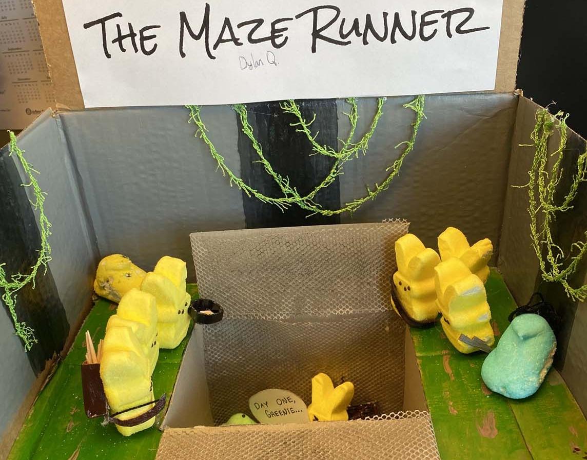 The Maze Runner by Dylan Quinn - Entry 32