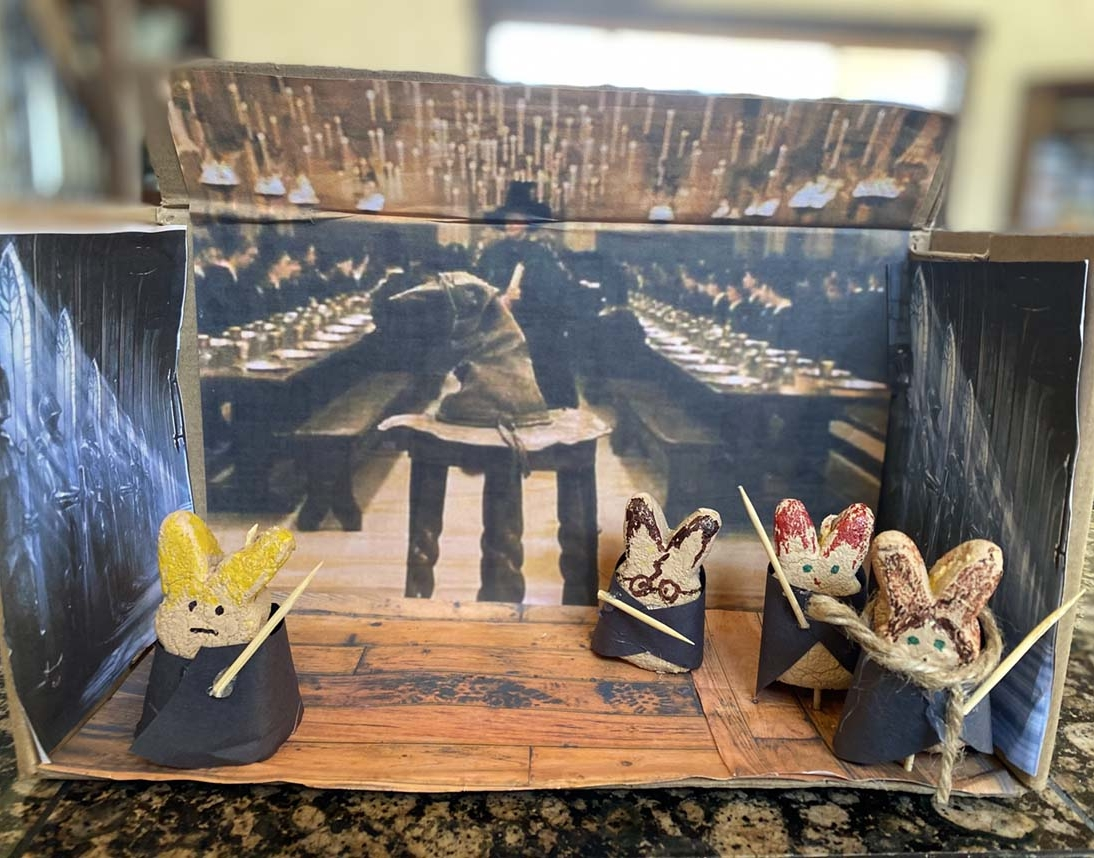 Entry 9 - Sorting Hat Peeps by Ethan Summers