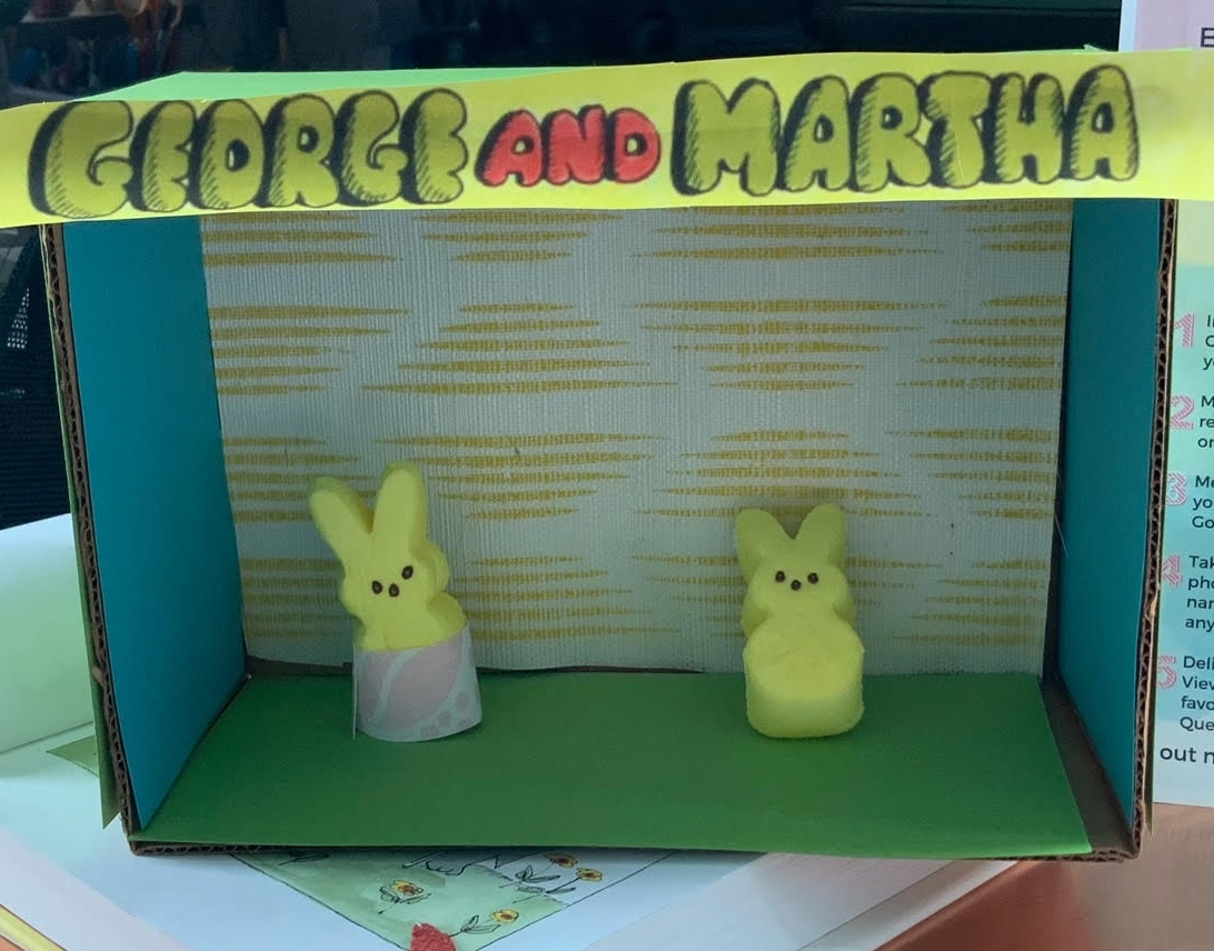 George and Martha by Beatrix Gibson - Entry 30