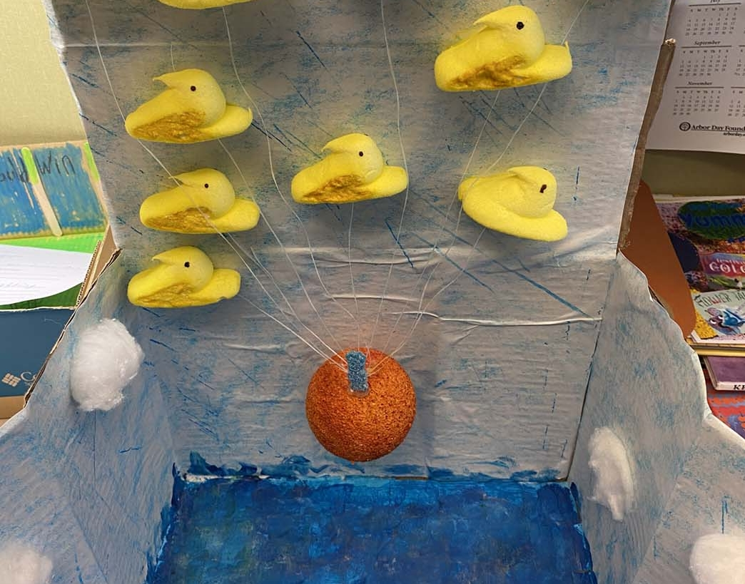 James and the Giant Peep by Jacqueline Hahn - Entry 35