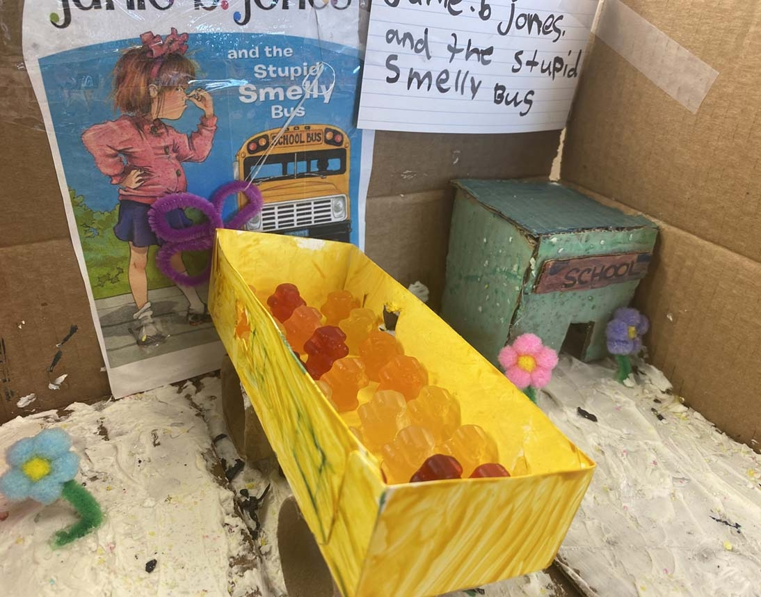 Junie B Jones and the Stupid Smelly Bus by Kendall Walker - Entry 19
