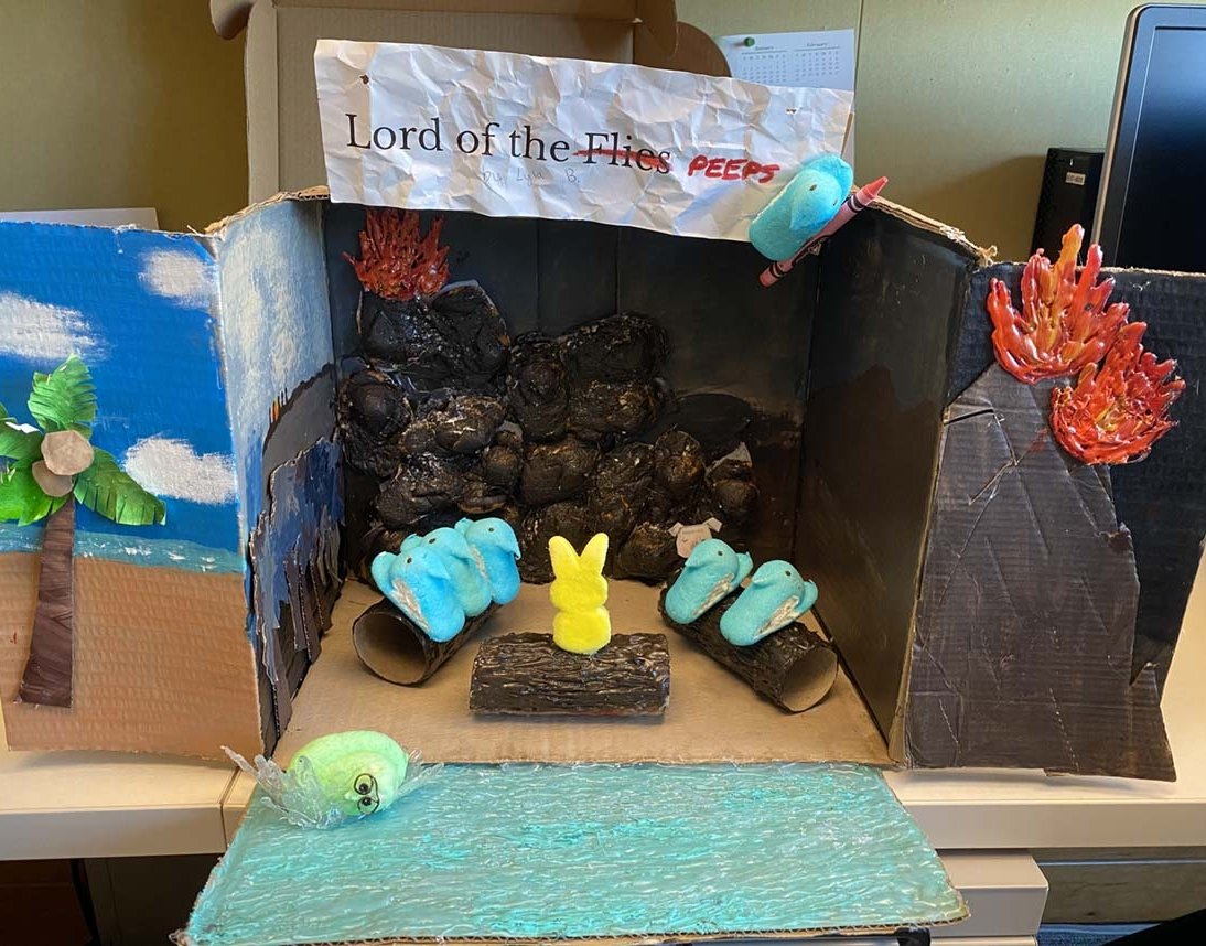 Lord of the Flies by Lyla Baker - Entry 33