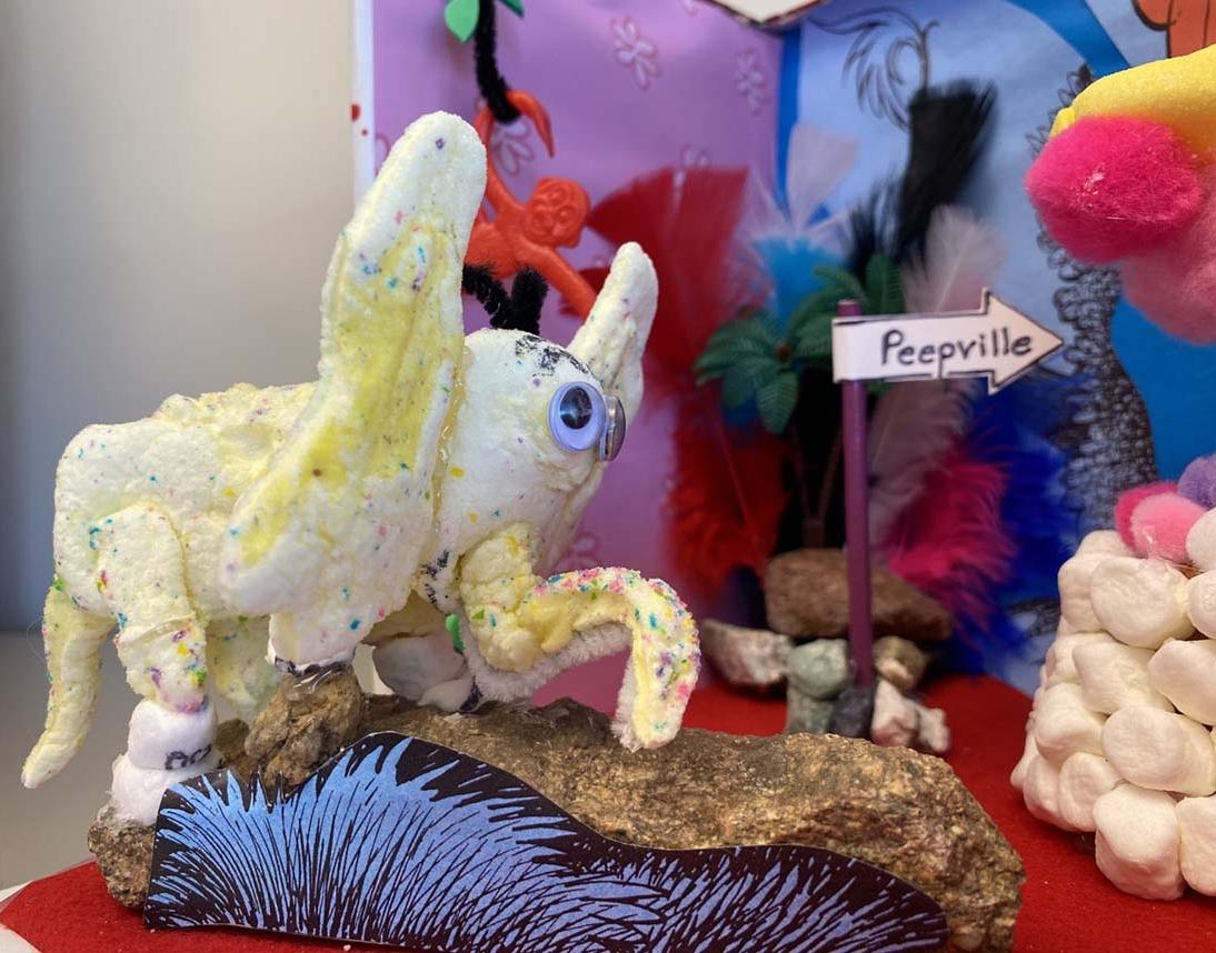 Horton Hears a Peep! by Paula Huselton - Entry 42