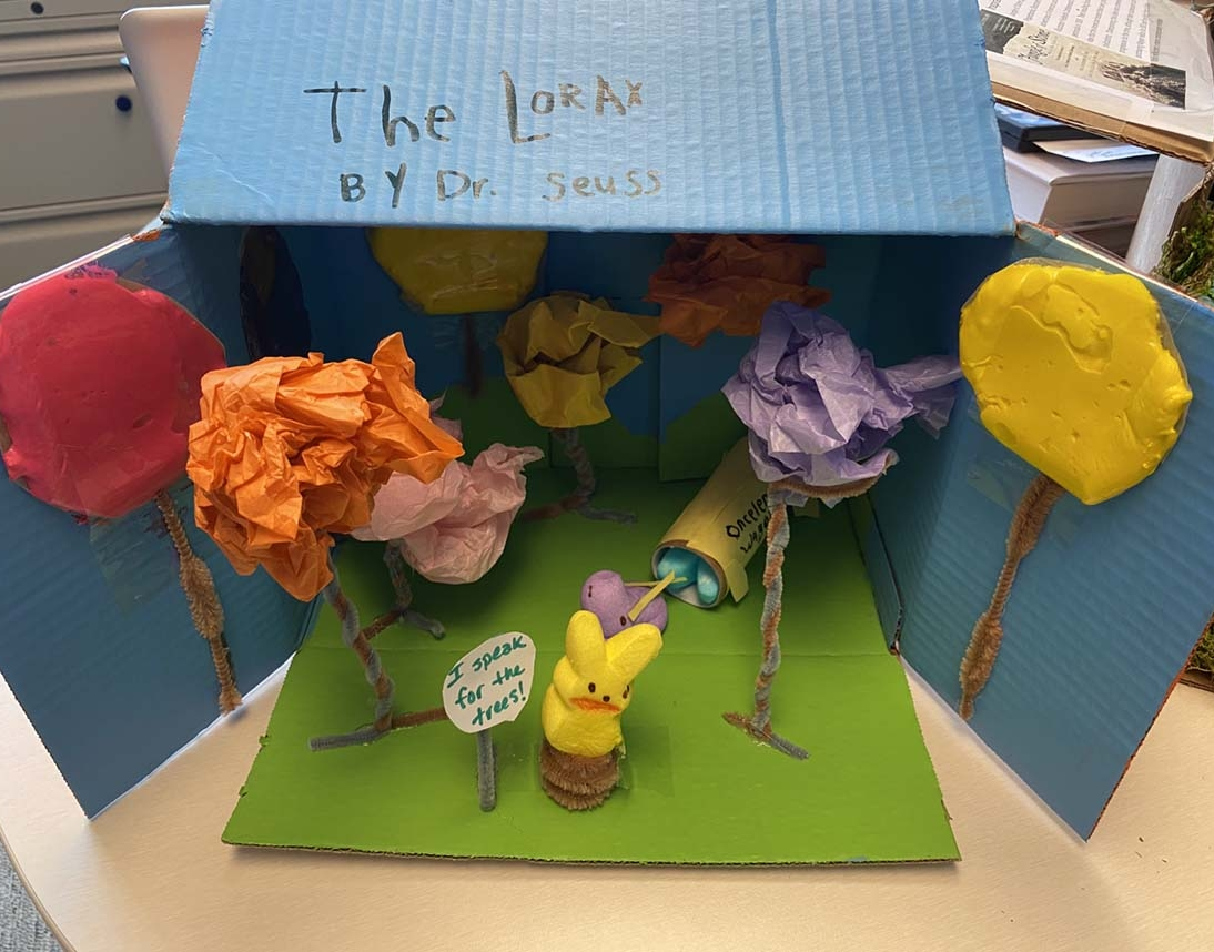Entry 8 - The Lorax by Poe Strahl