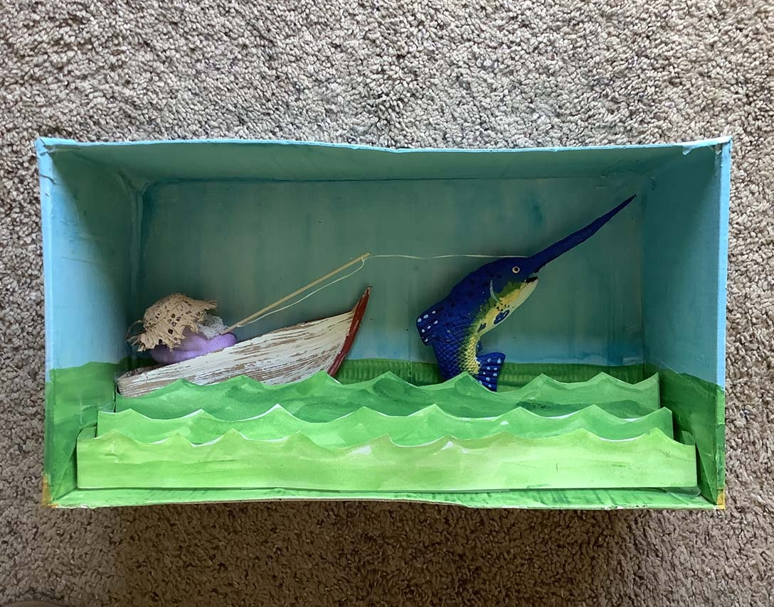 The Old Peep and the Sea by Dona Steele - Entry 40