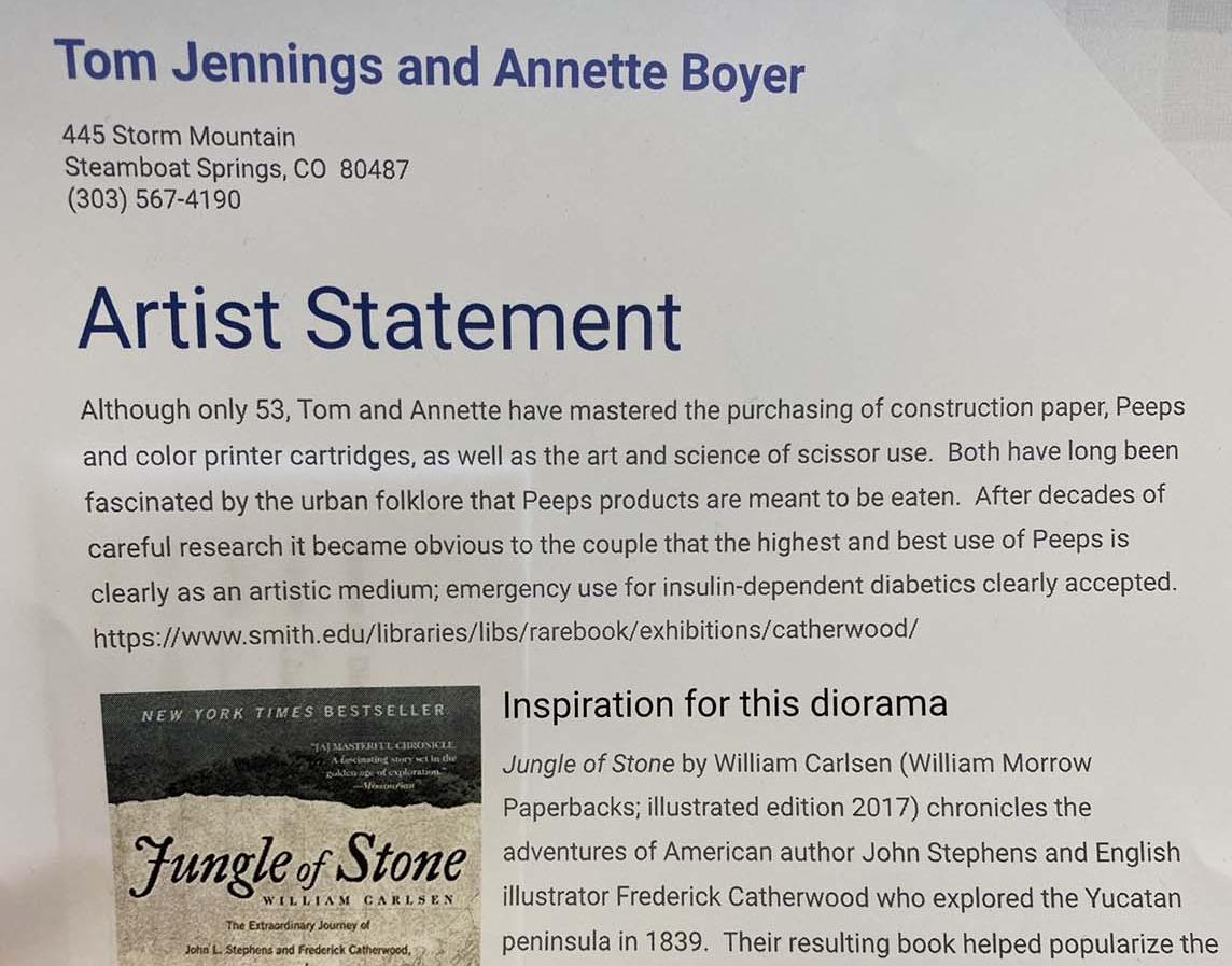 Jungle of Stone by Tom Jennings & Annette Boyer - Entry 38