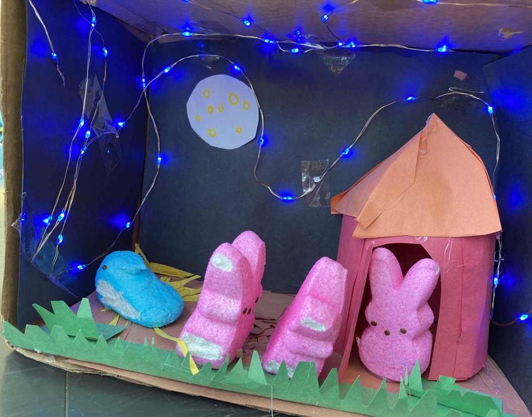 Entry 3 - The Story of the Three Little Peeps by Violet Bock