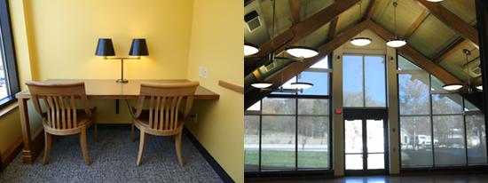 Study Room & Library Hall