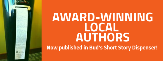 Local Authors in the short story dispenser