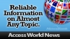 Access World News Graphic