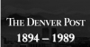 Denver Post Archive Edition Logo