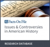 InfoBase Issues & Controversies in American History Logo