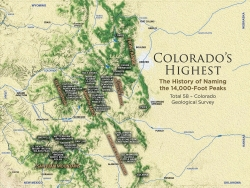Colorado's Highest, map page 4