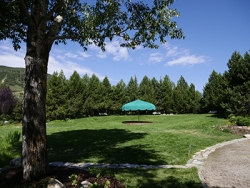 The Green at the the Yampa River Botanic Park