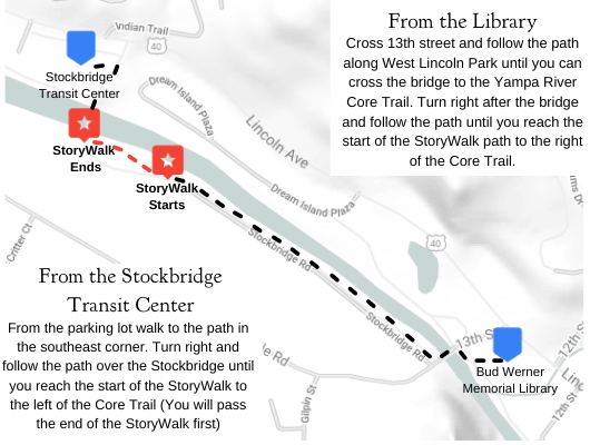 StoryWalk Map